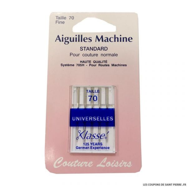 Aiguilles machine standard x5