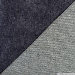 Jean's coton bleu brut