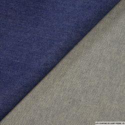 Jean's coton bleu