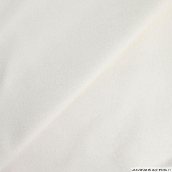 Jean's coton blanc cassé