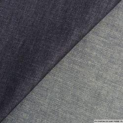 Jean's coton gris rayé