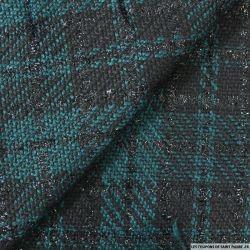 Tweed polyester fantaisie multicolore