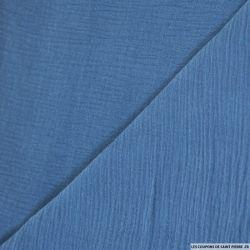Double gaze bleu turquin