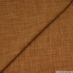 Polyester doupionné chiné mocca