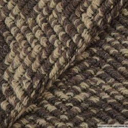 Tricot savane laine mélangée