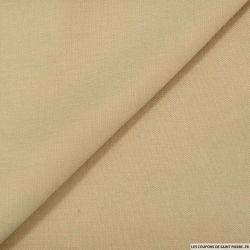 Coton élasthanne beige