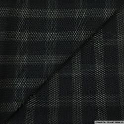 Clan polyester noir et gris