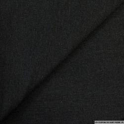 Coton rayé élasthanne noir jean's