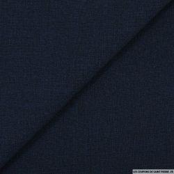 Crêpon polyester bleu