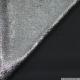 Crêpe irisé argent