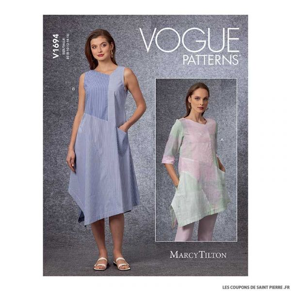 Patron Vogue V1692 : Robe