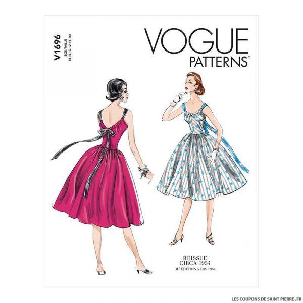 Patron Vogue V1696 : Tunique et robe