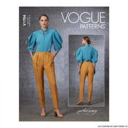 Patron Vogue V1704 : Haut et pantalon