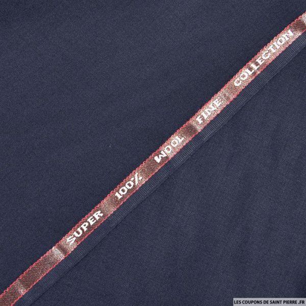 Tissu Tailleur 100% laine marine