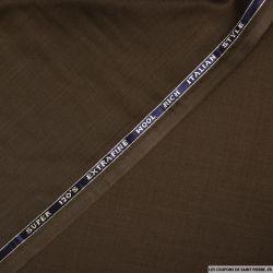 Tissu Tailleur laine mélangée eucalyptus