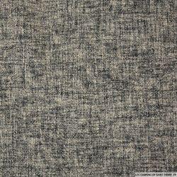 Tweed laine serré rose et gris