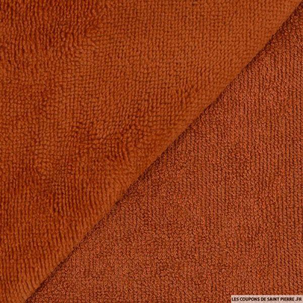 Tissu éponge bambou écureuil vendu au mètre