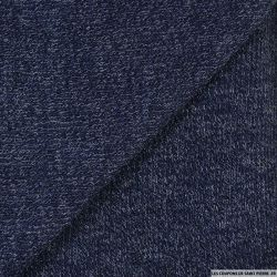 Maille tricot bleu