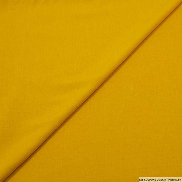 Voile viscose jaune or