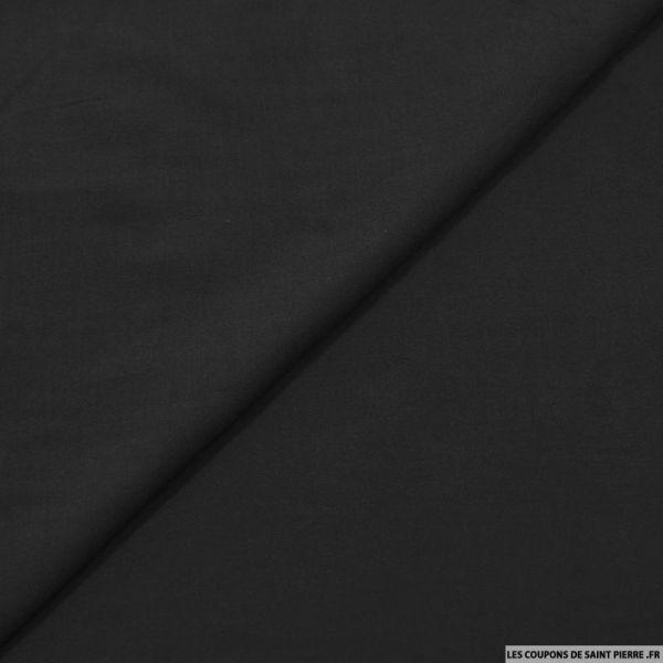 Voile viscose noir
