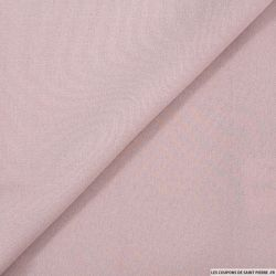 Crêpe envers satin rose mat