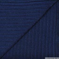 Maille rayé bleu marine