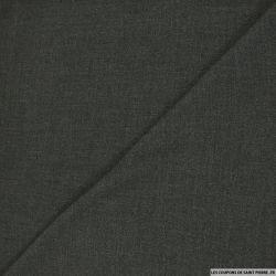 Tissu Tailleur polyviscose gris anthracite