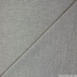 Coton polyester gris flèche